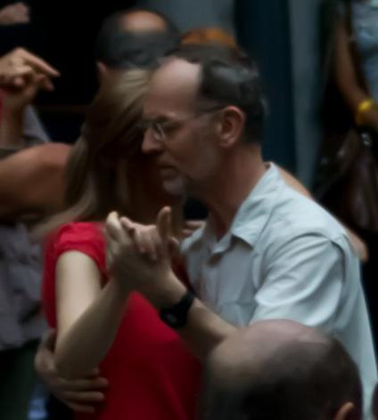 Jean-Marie exécutant un tango