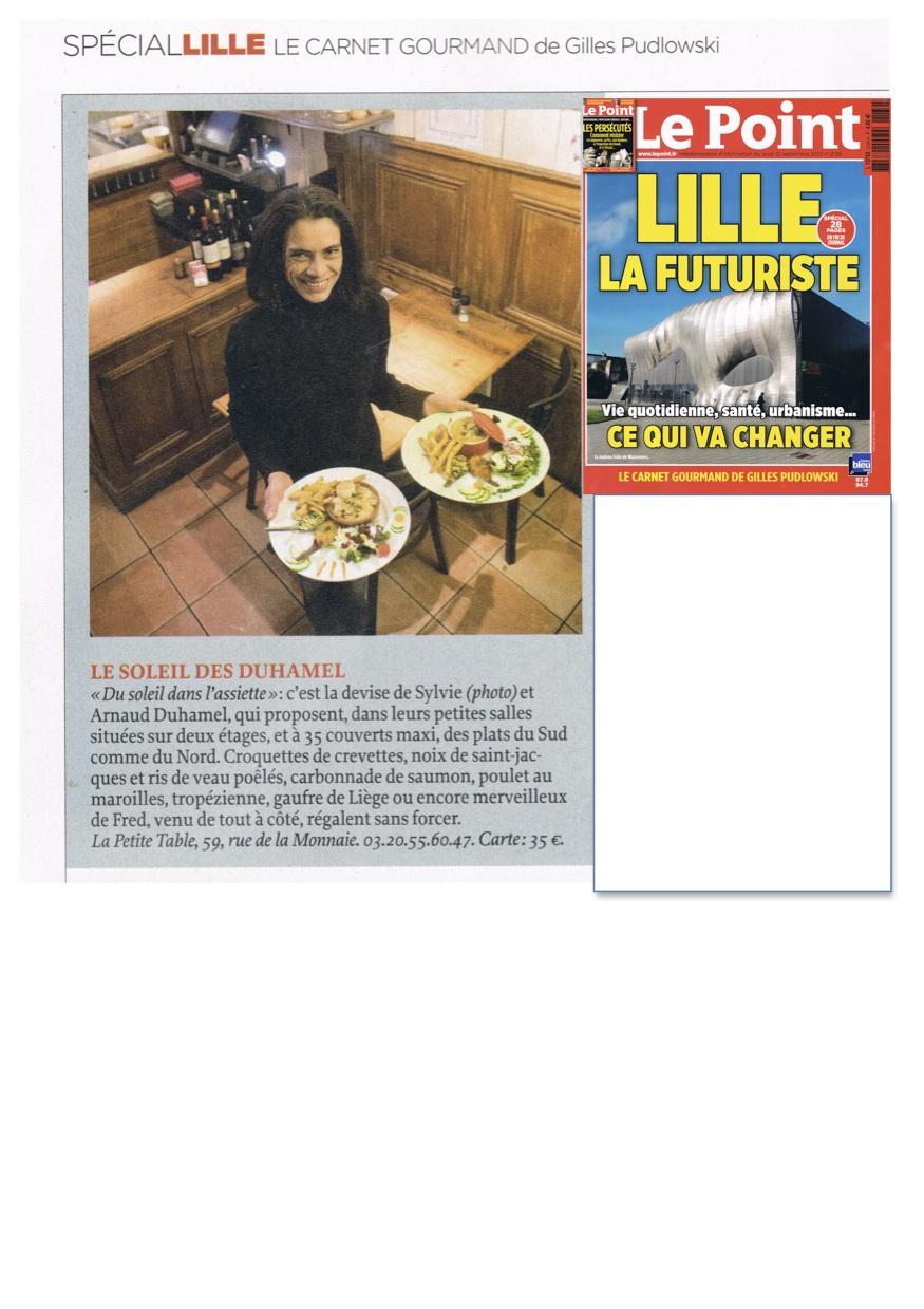 Sylvie de La petite table