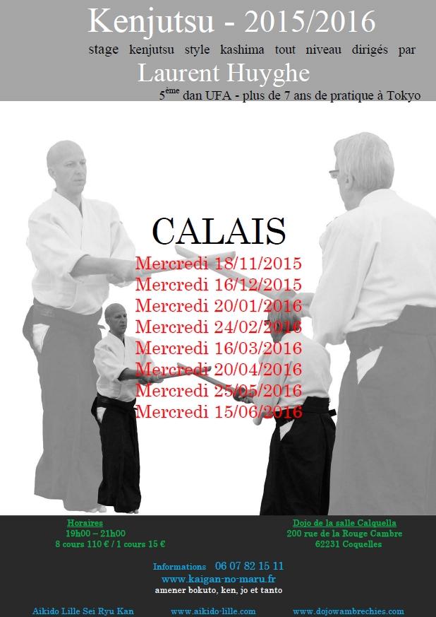 Stage Laurent Huyghe à Calais
