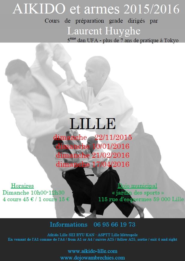 Stages Laurent Huyghe à Lille