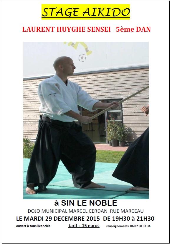 Stage Laurent Huyghe à Sin-le Noble
