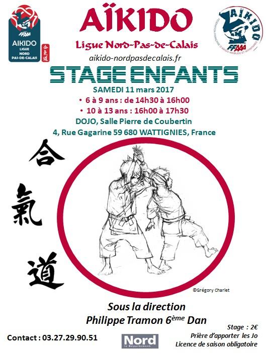 Stage Enfants 11 mars wattignies
