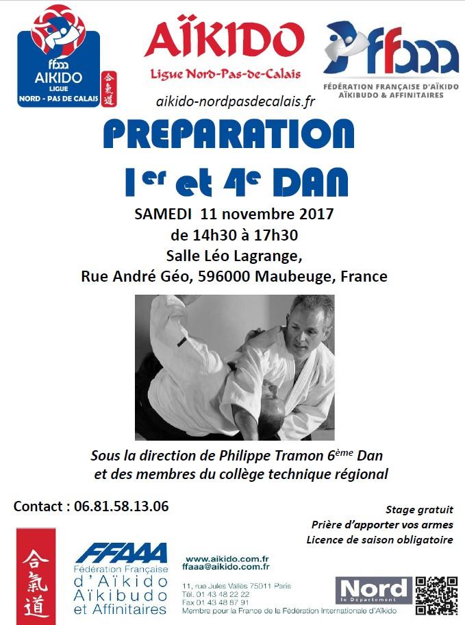 Stage de préparation Dan novembre 2017