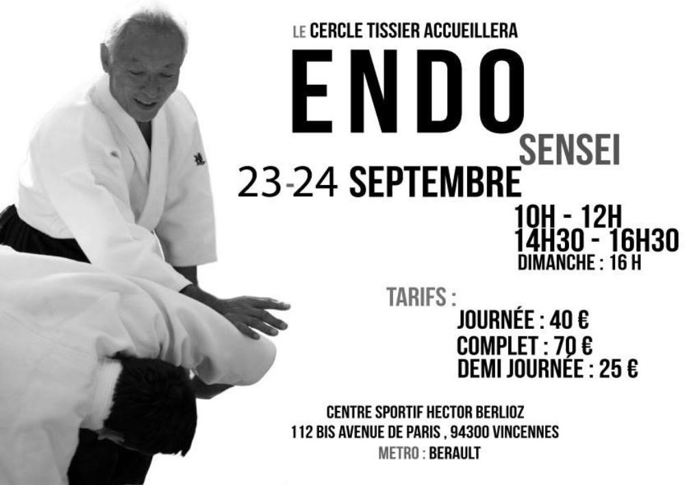 Stage Endo à Paris en septembre